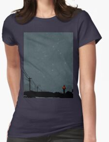 The Road Womens Fitted T-Shirt