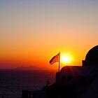 Santorini Sunset by slexii
