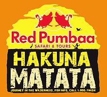 Red Pumbaa - Hakuna Matata by Daniel9900