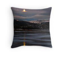 Moonrise in Colorado Throw Pillow