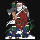 Hobo With A Shotgun? Try Santa With An Axe by himynameischris