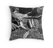 Fish Bait Throw Pillow