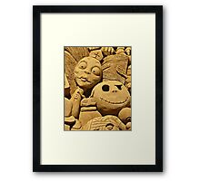 Germs on Toast Framed Print