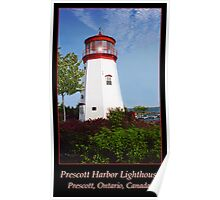 Prescott Harbor Lighthouse Poster