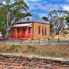The Town Hall - Kanmantoo, South Australia by Mark Richards