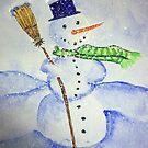 Christmas Snowman by Mitch Adams