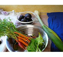 Produce from the fertile earth Photographic Print