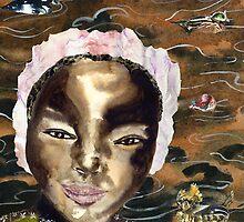 River Flowers by EllenCoffin