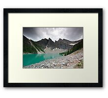 Ranges and lakes III Framed Print