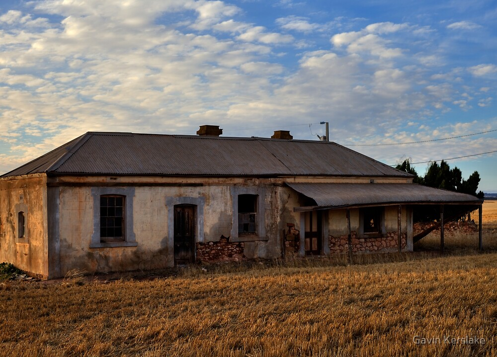 Burra Abandoned House by sedge808