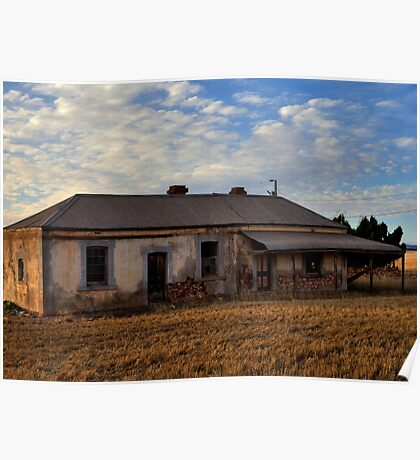 Burra Abandoned House Poster