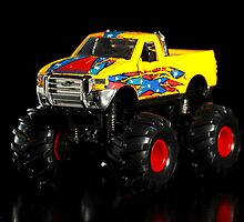 Toy monster truck by Johan Larson
