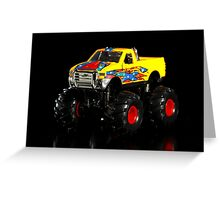 Toy monster truck Greeting Card