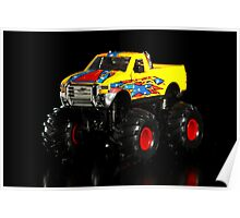 Toy monster truck Poster