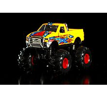 Toy monster truck Photographic Print