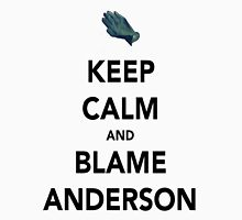 Blame Anderson! Unisex T-Shirt