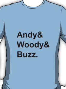Toy Story - Black T-Shirt