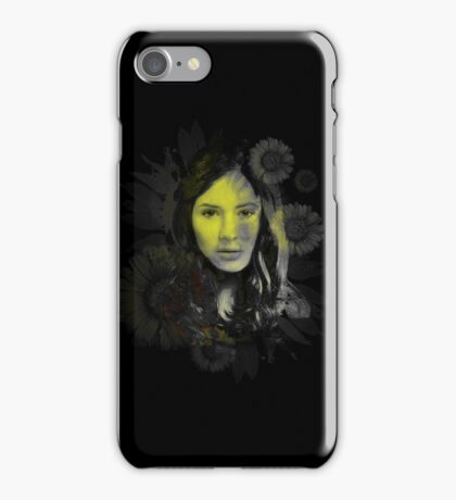 Splatter Amy Pond iPhone Case/Skin