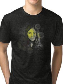 Splatter Amy Pond Tri-blend T-Shirt