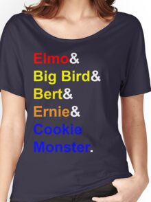 Sesame Street Women's Relaxed Fit T-Shirt
