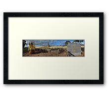 Taking Back The Land Framed Print