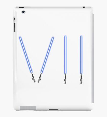 Star Wars The Force Awakens (Episode Seven) VII Blue Lightsaber iPad Case/Skin