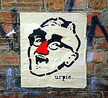 Melbourne graffiti by John Mitchell