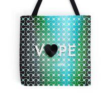 Vape Heart Retro Pattern  Tote Bag