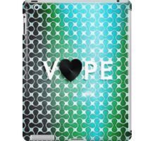 Vape Heart Retro Pattern  iPad Case/Skin