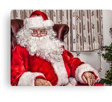 Santa Is In Town....Ho Ho Ho Canvas Print