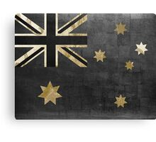 Australian Flag Fashion Glamour  Canvas Print
