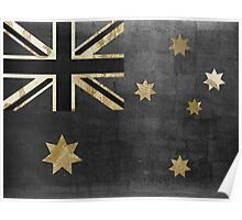 Australian Flag Fashion Glamour  Poster