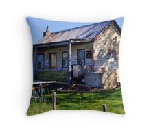 Country Residence Throw Pillow