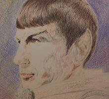 Spock in Spacesuit by NWillsonStrader