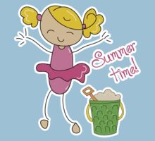Summer Time Kids Tee