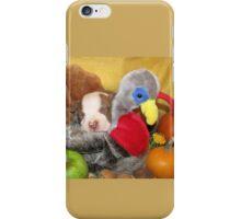 Uno Asleep With The Turkey iPhone Case/Skin