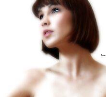 Portrait White by ArtbyDigman