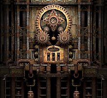 Infernal Steampunk Machine #3 phone cases by Steve Crompton