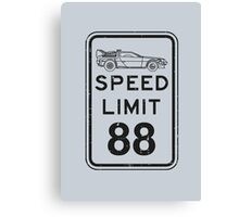 Speed limit Canvas Print