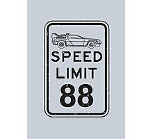 Speed limit Photographic Print