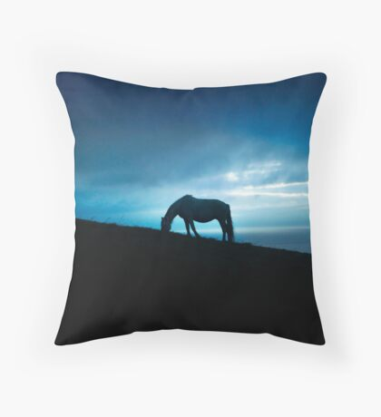Liscannor, County Clare Throw Pillow