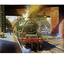 Jubilee 4-6-0 at Liverpool, Lime Street Photographic Print