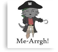 Me-Arrgh! Canvas Print