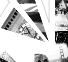 San Fran Abstract Sticker