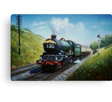 Cornish Riviera express Canvas Print