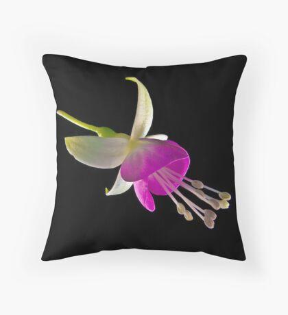Fuchsia XXV Throw Pillow