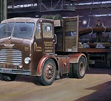 Leyland Beaver artic by Mike Jeffries
