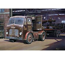 Leyland Beaver artic Photographic Print