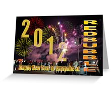 Happy New Year 2012 Card Greeting Card