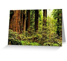 Giants of Nature Greeting Card